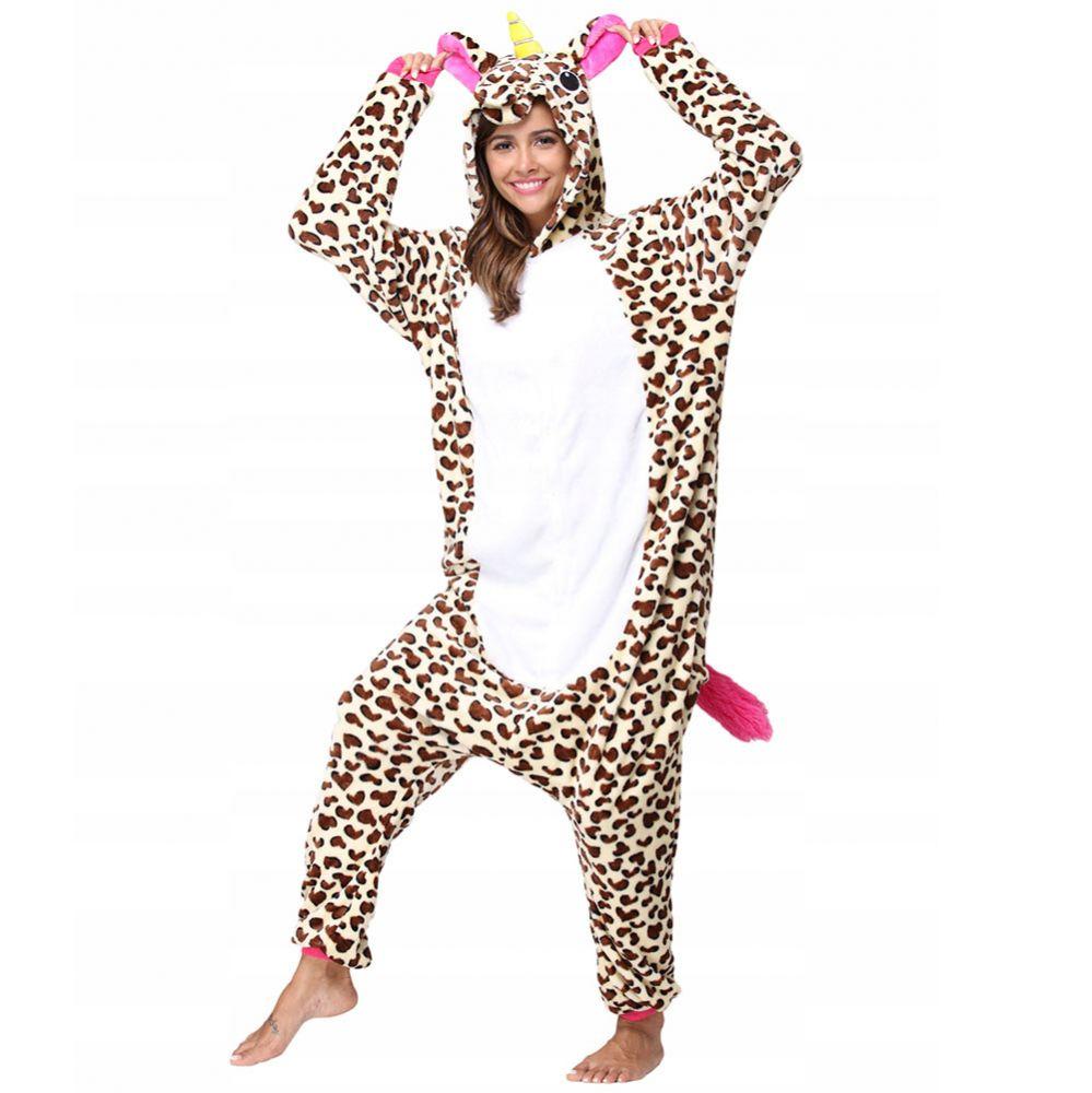 Пижама Кигуруми Единорог Леопардовый