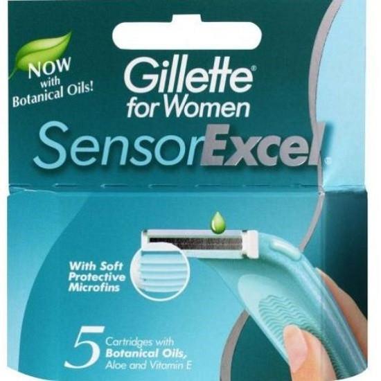 Gillette Sensor Excel for Women сменные кассеты женские (5 шт)