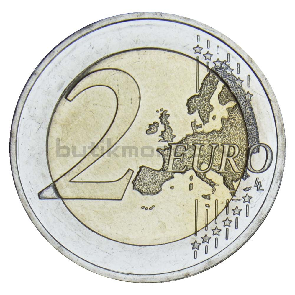 2 евро 2020 Германия Бранденбург (дворец Сан-Суси в Потсдаме) D