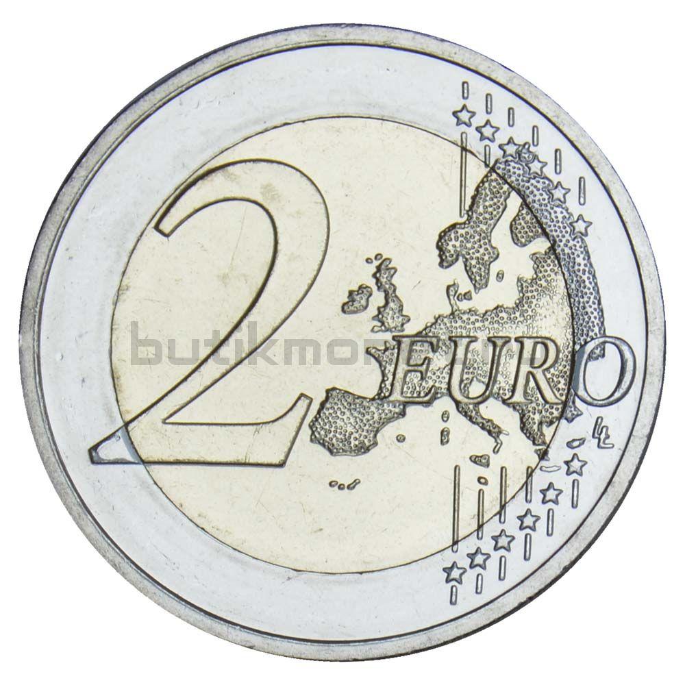 2 евро 2020 Германия Бранденбург (дворец Сан-Суси в Потсдаме) F