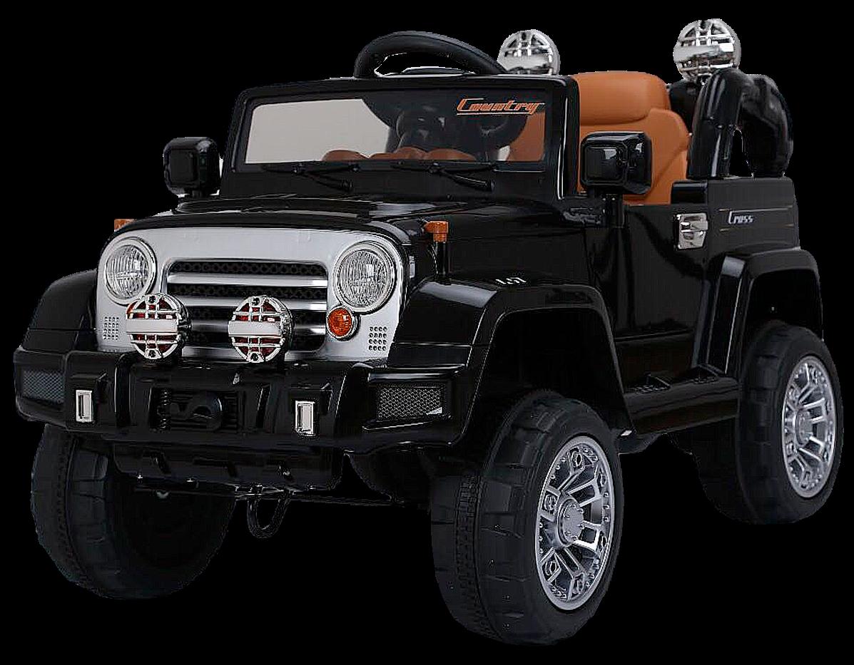 Детский электромобиль (2020) JJ245 (12V, EVA) чёрный