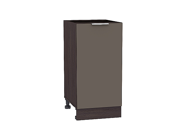 Шкаф нижний Терра Н400 (Смоки софт)