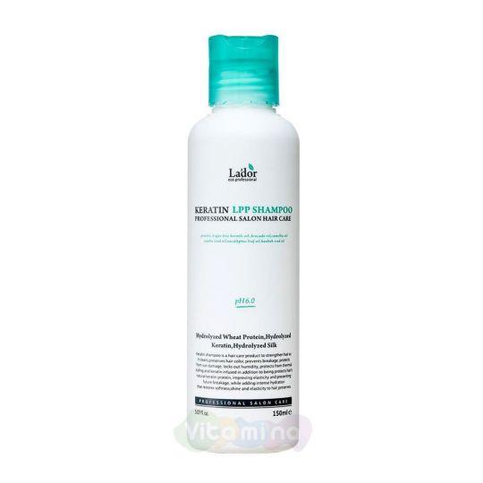 La'dor Безсульфатный шампунь для волос с кератином Keratin LPP Shampoo