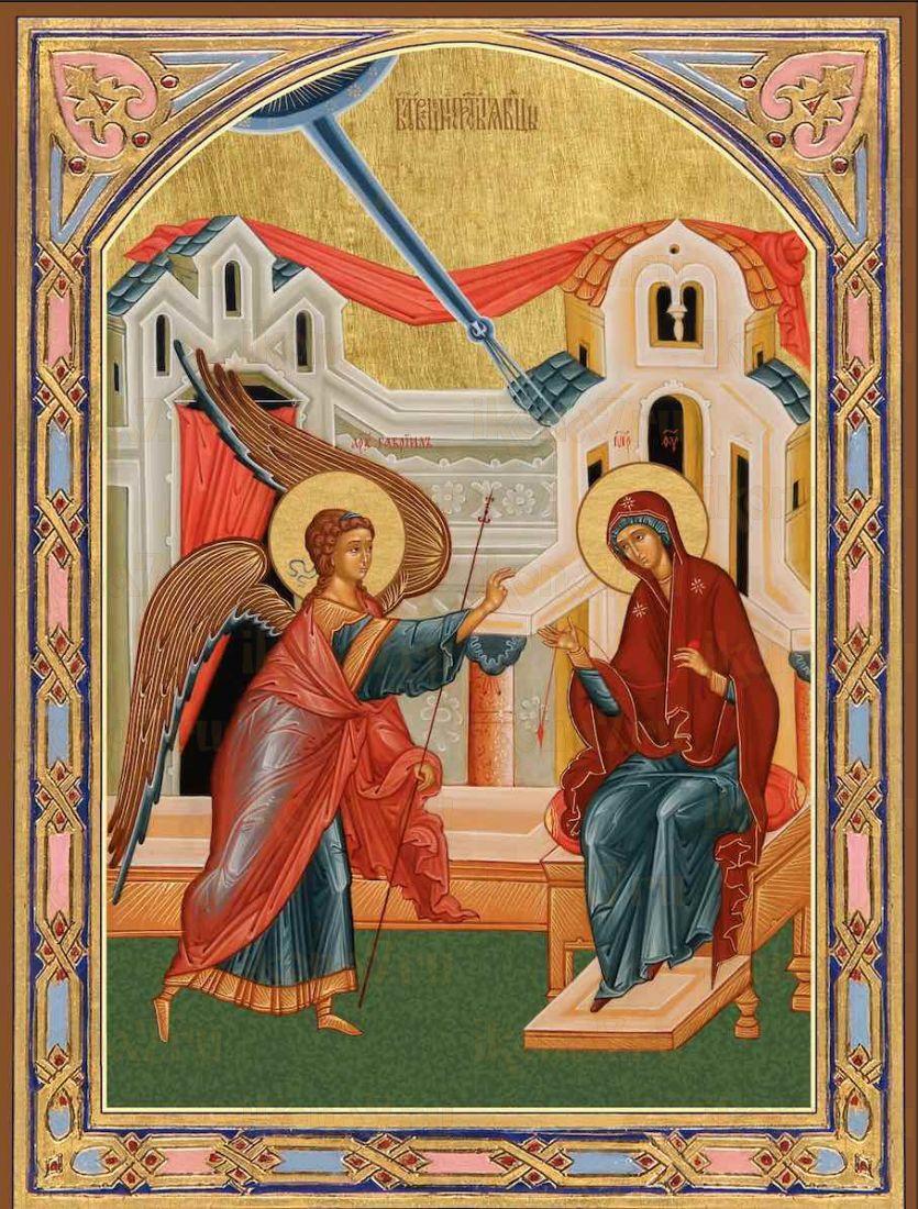 Благовещение Пресвятой Богородицы икона Божией Матери