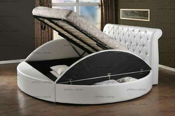 Кровать круглая Амстердам 1080 (б/о)