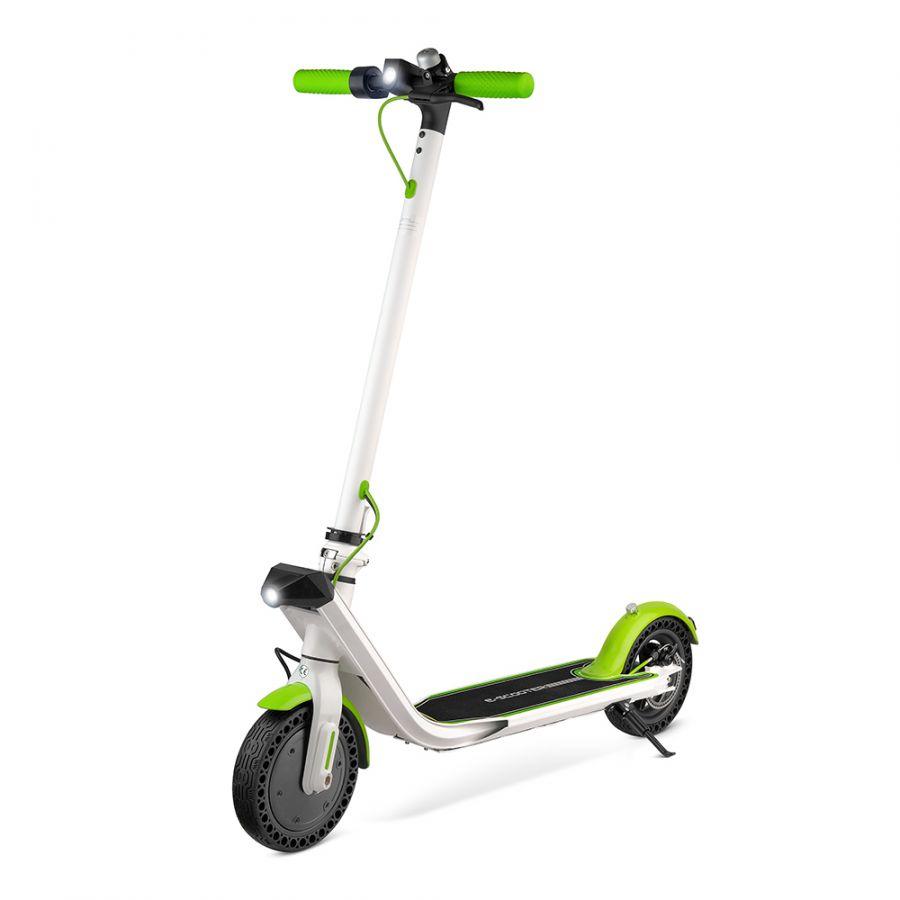 Электросамокат EVO BLADE T-ZERO бело-зеленый (7800mah)