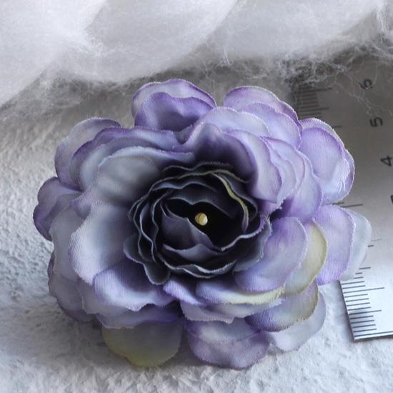 Тканевый цветок Сиреневый 5см