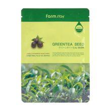 Visible Difference Mask Sheet Green Tea Seed Тканевая маска с натуральным с семенами зелёного чая