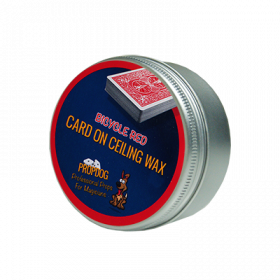 Card on Ceiling Wax 30g (red) by David Bonsall and PropDog