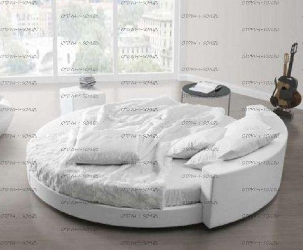 Кровать круглая Амстердам 1121 б/о
