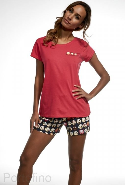 628-141 Пижама женская Cornette
