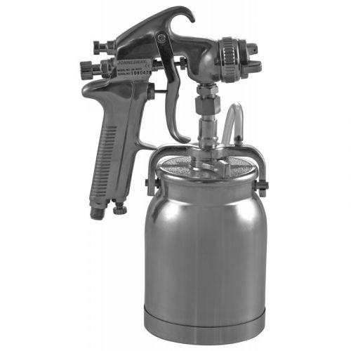 "JA-507S Покрасочный пистолет ""Краскопульт"", нижний бачок алюминиевый 1л, дюза 1,6 мм"
