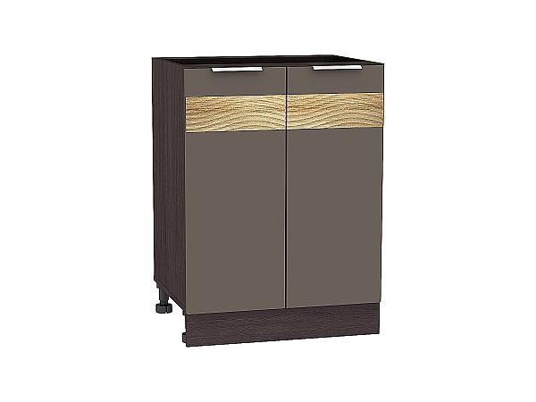 Шкаф нижний Терра Н600 D (Смоки софт)