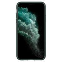 Купить чехол Spigen Ultra Hybrid для iPhone 11 Pro зеленый прозрачный чехол для Айфон 11 Про в Москве в интернет магазине аксессуаров для смартфонов elite-case.ru