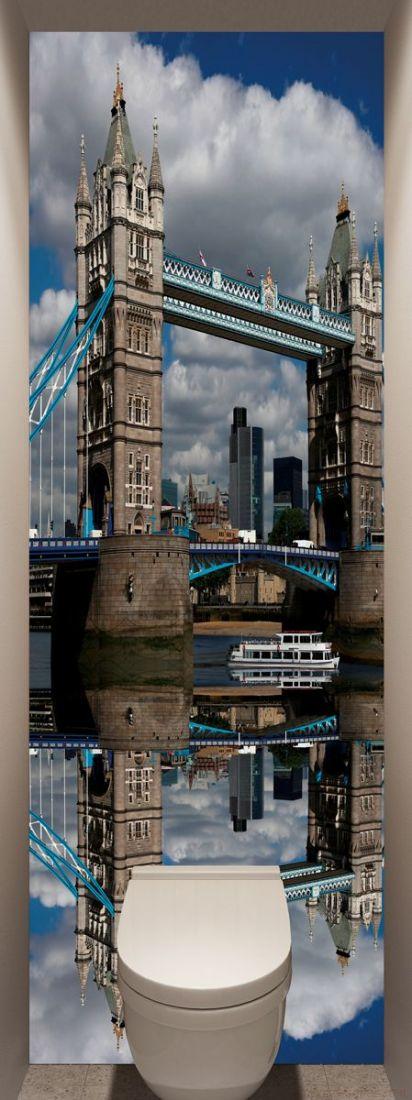 Фотообои в туалет - Лондонский мост