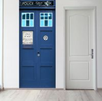 Панно на стену - Police Box магазин Интерьерные наклейки