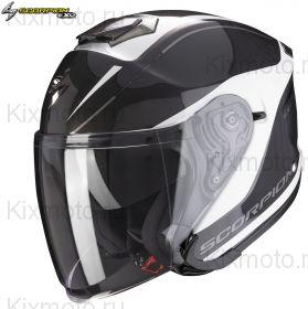 Шлем Scorpion EXO-S1 Shadow, Черно-белый