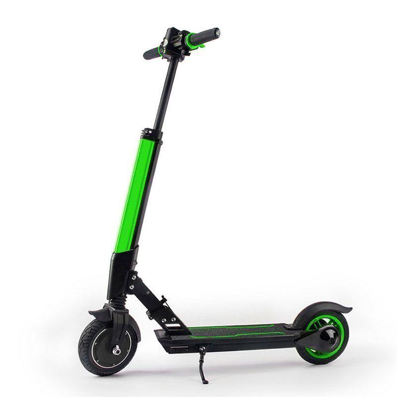 Электросамокат Jetson L8 с приложением Зеленый