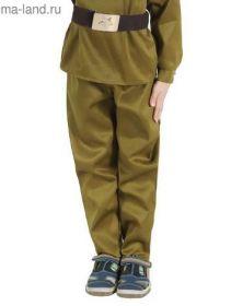 Детские военные брюки к 9 мая и 23 февраля