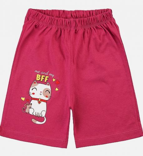 Шорты детские для девочки  BONITO 1-5 №BF101SH сливовый