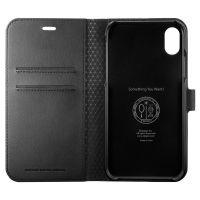 Купить оригинальный чехол SGP Spigen Wallet S для iPhone XR черный: купить недорого в Москве — выгодные цены в интернет-магазине противоударных чехлов для телефонов айфон 10 R — «Elite-Case.ru»