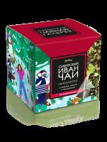 Иван-Чай листовой Bionergy «ИММУНИТЕТ» с клюквой, мятой, смородиной и васильком, пакетированный