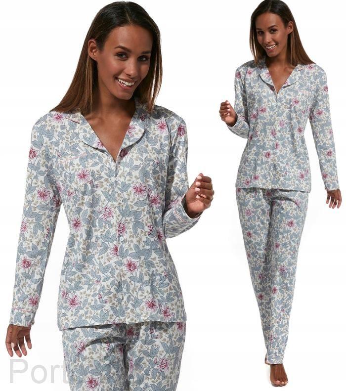682-196 Пижама женская длинный рукав Cornette