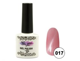 ГЕЛЬ-ЛАК FOR YOU CAT'S EYE EFFECT PINK № 017