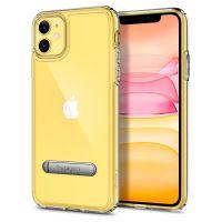 Купить чехол Spigen Ultra Hybrid S для iPhone 11 прозрачный чехол для Айфон 11 в Москве в интернет магазине аксессуаров для смартфонов elite-case.ru