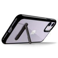 Купить чехол Spigen Ultra Hybrid S черный для iPhone 11 прозрачный чехол для Айфон 11 в Москве в интернет магазине аксессуаров для смартфонов elite-case.ru