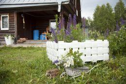 Заборчик декоративный FLOX белый