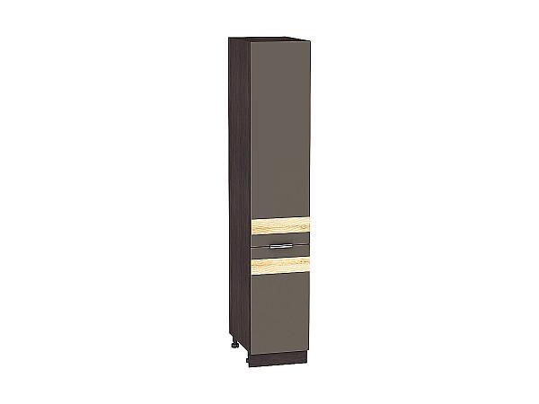 Шкаф-пенал Терра ШП400 D (Смоки софт)
