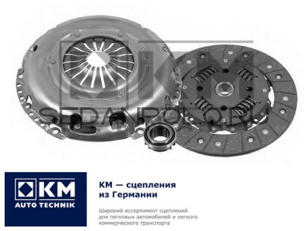 Комплект сцепления KM Autotechnik для Volkswagen Polo
