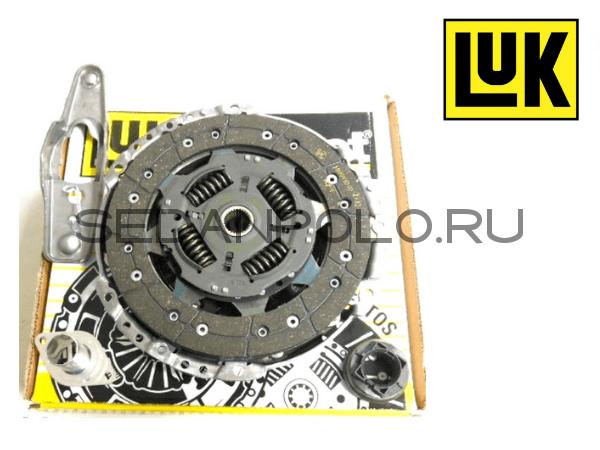 Комплект сцепления LUK (GERMANY) для Volkswagen Polo Sedan / Rapid 1.6