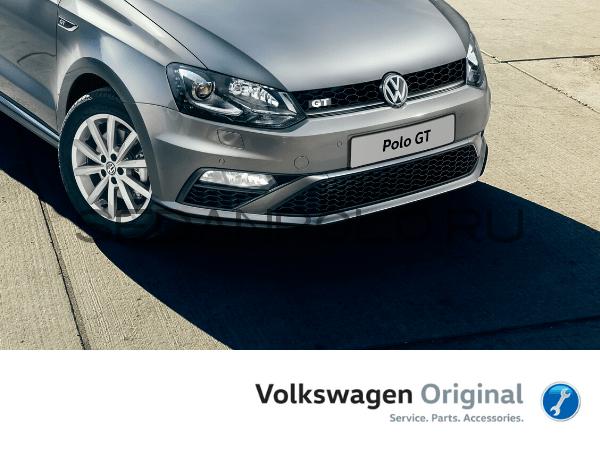 Бампер передний В СБОРЕ Volkswagen Polo Sedan GT