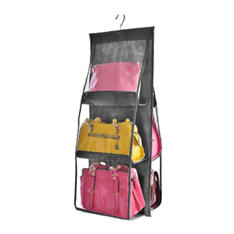 Органайзер для сумок Hanging Purse Organizer (цвет серый)