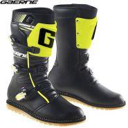 Ботинки Gaerne Balance Classic 2020, Черные c флоуресцентным желтым