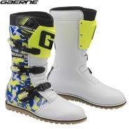 Ботинки Gaerne Balance Classic 2020, Бело-сине-желтые
