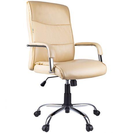 """Кресло руководителя Helmi HL-E03 """"Accept"""", экокожа бежевая"""