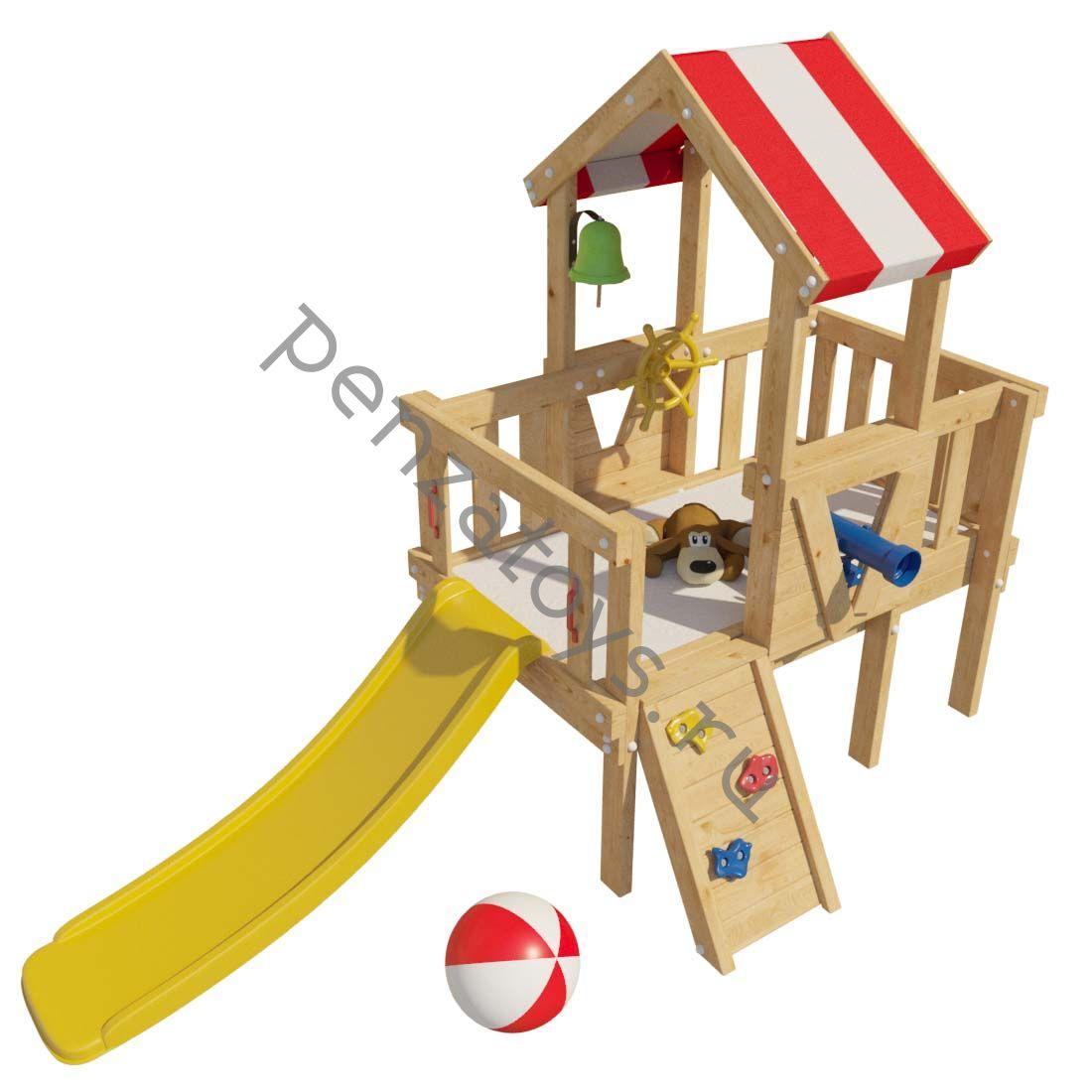 Детская игровая площадка/чердак ВЕНДИ для дома и дачи