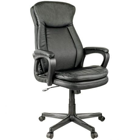 """Кресло руководителя Helmi HL-E22 """"Advantage"""", экокожа черная"""