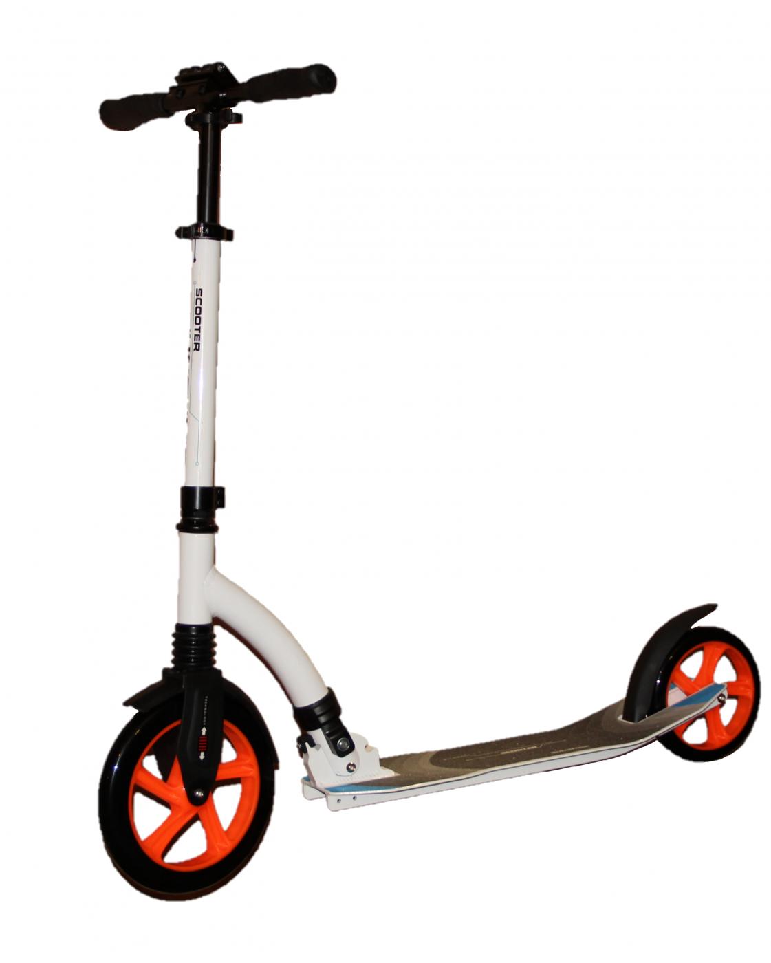 Cамокат для взрослых и подростков с большими колесами Slider URBAN TRAVEL