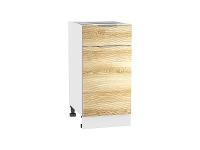 Шкаф нижний 1 ящиком и дверцей Терра Н401W (Ель карпатская)