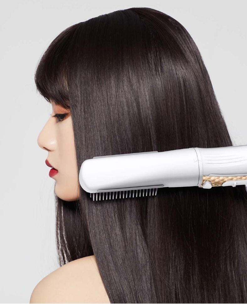 Гибридный стайлер для волос WellSkins Hot Air Comb (WX-FT09) White