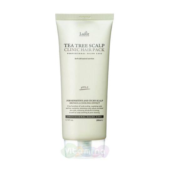 La'dor Маска-пилинг для кожи головы с чайным деревом Tea Tree Scalp Hair Pack, 200 мл