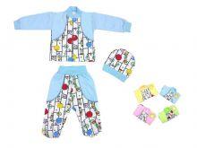 Костюм для новорожденных dZC-KS211(e)-ITk (код 01583) Мамин Малыш OPTMM.RU
