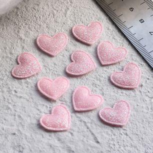 Кукольный аксессуар Набор сердечек розовый