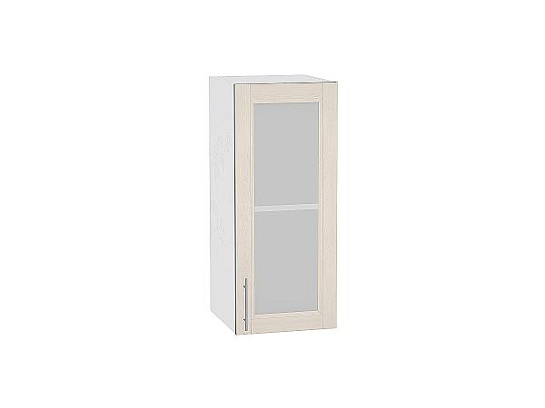 Шкаф верхний Сканди В300 со стеклом Cappuccino Softwood