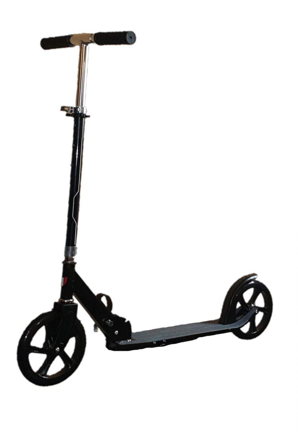 S00233 Самокат подростковый алюминиевый складной с подножкой Scooter Urban sport Cool