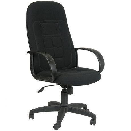 Кресло руководителя Chairman 727 PL, ткань черная, механизм качания
